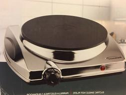 Brentwood Portable Electric Cooking Single Hot Plate 1000W $