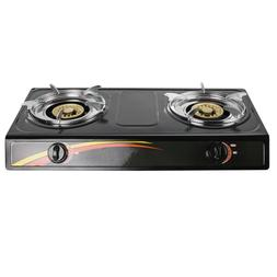 Portable Electric Dual 2 Burner Hot Plate Stove Top, Double
