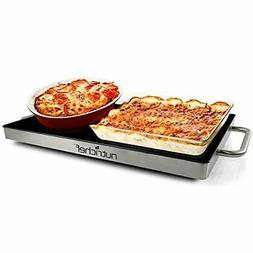 Portable Electric Food Hot Plate - Stainless Steel Warming T