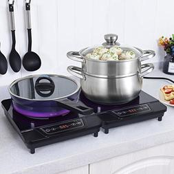 Costway 1800W Portable Electric Induction Cooktop Countertop