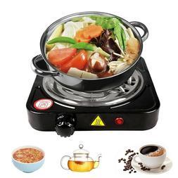 Portable Electric Single Burner Hot Plate Cooktop RV Dorm Co