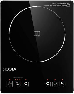 Portable Induction Cooktop 15 Temperature Power Setting Wate