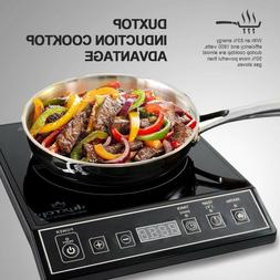 Portable Induction Cooktop Countertop 1800W Digital Hot Plat