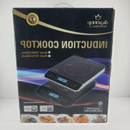Duxtop LCD 1800-Watt Portable Induction Cooktop Countertop B