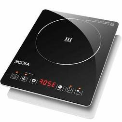 Portable Induction Cooktop, Sensor Electric Hot Plate with U
