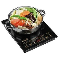 Portable Induction Hot Plate Electric Cooker Includes 3.5Qt