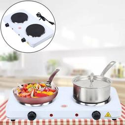Portable Kitchen 2000W Electric Double Burner Hot Plate Cook