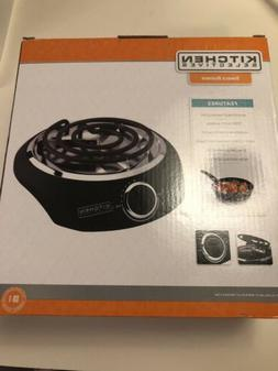 Portable Single Electric Burner Hot Plate Stove Cooking Dorm