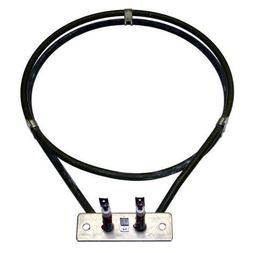 """Cadco Rs090 Oven Element 220-230V 1365W 7-5/8"""" Dia 1/4"""" M Pu"""