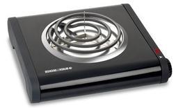Black & Decker® SB1001B Single Burner Buffet Range