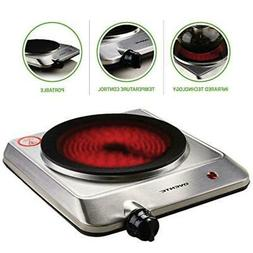 Single Burner Infrared Cooktop Ceramic Glass Electric Hot Pl