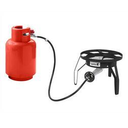 Single Burner Liquid Propane Outdoor Round Furnace Camping P