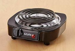 single electric burner portable hot plate stove