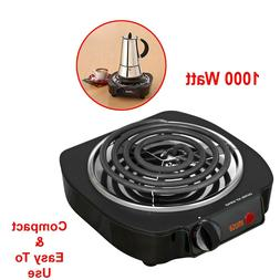 single electric burner portable hot plate stove