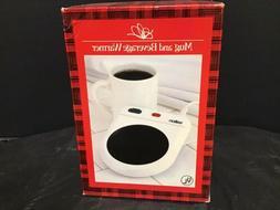 Salton Hot Spot Set Coffee & Hot Beverage Warmer + Bonus Mug