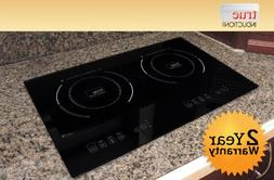 True Induction TI-2B Counter Inset Double Burner Induction C