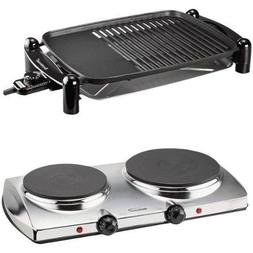 Brentwood TS-640 Indoor Electric BBQ Grill and Brentwood TS-