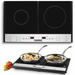 Two Burner Hot Plate For Cooking Electric Cooktop Stove RV 2