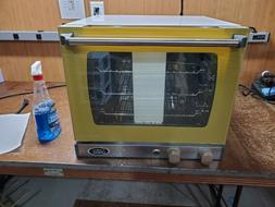 Cadco UNOX Quarter Size Stainless Steel Convection Oven - Mo