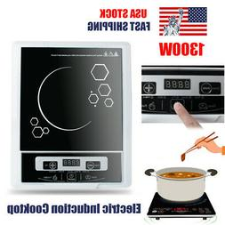 US Electric Induction Cooker Single Burner Digital Hot Plate