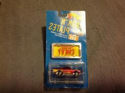 VHTF! PARK 'N PLATES - 57 Chevy w/door  Tampo ! RARE ! Still
