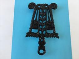 vintage black cast iron kitchen trivet dining