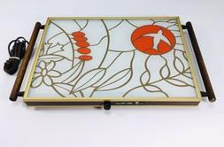 Vintage Broil King Electric Hot Plate Warming Tray Hot Serve