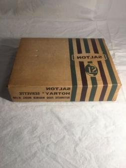 "Vintage Hotplate Automatic Food Warmer 6"" Salton Hotray H100"