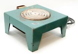 Vintage Mid-Century Portable Electric Table Range Hot Plate