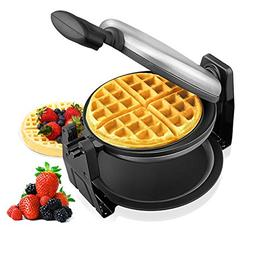 Aicok Belgian Waffle Maker, Stainless Steel Waffle Iron, Fas